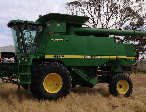 John Deere CTS 11 Header for sale Newdegate WA