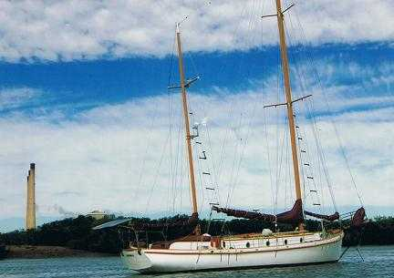 W.Ellis and Sons 44 Ketch Yacht Boat for sale QLD Gladstone