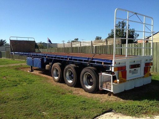 Freighter Trailer Checker Plate 41 Foot Trailer for sale Vic