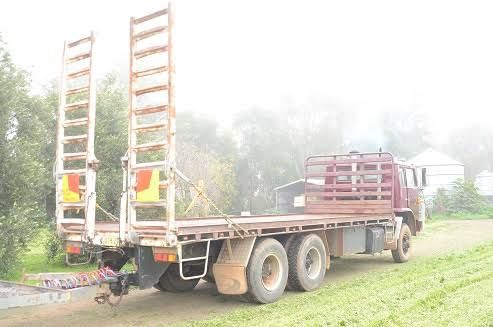 5.8 Tonne Bogie Axle Plant Trailer for sale NSW Warren