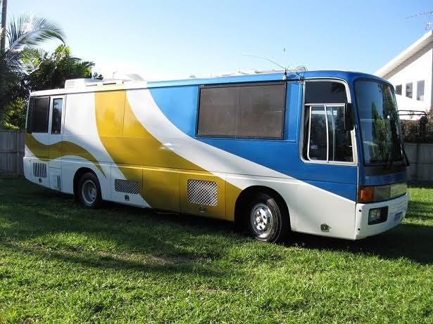 Mitsubishi Fuso MK117J Motorhome for sale QLD