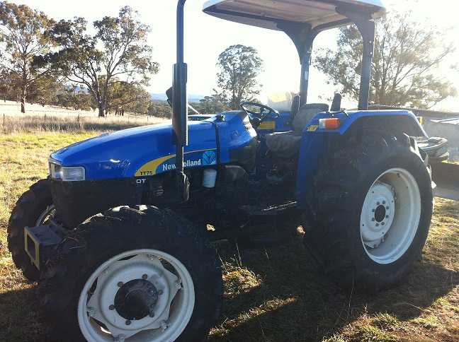 Tractor for sale NSW TT75 New Holland Tractor