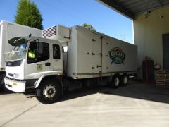 1998 Isuzu FVM 193A LWB Freezer Truck for sale NSW