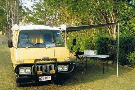 Daihatsu Diesel Campervan for sale Inglewood Qld