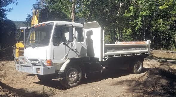 1990 Mitsubishi FK Series Tipper Truck for sale QLD Proserpine