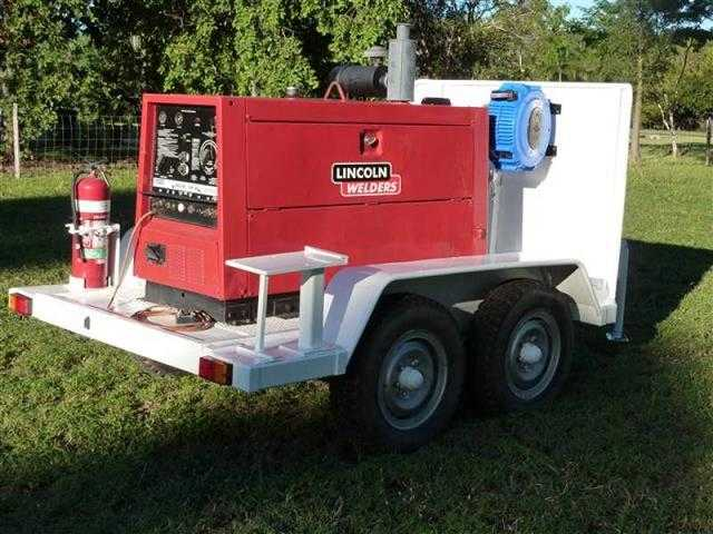 Lincoln Sam 400 Diesel Welder Plant ad Equipment for sale QLD Emerald