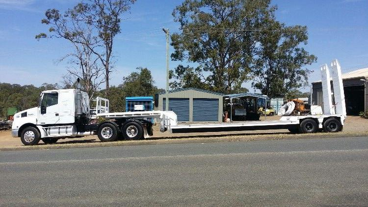 2001 Iveco Powerstar Prime Mover Truck & Low Loader Trailer for sale NSW