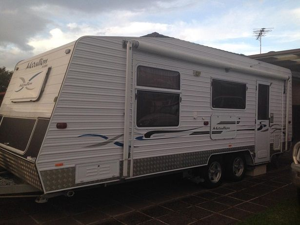 2009 22 Foot Olympic Medallion Caravan for sale NSW
