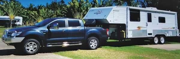 Ford Ranger Ute & Winjana Cattati 760 5th Wheeler Caravan for sale QLD Sold