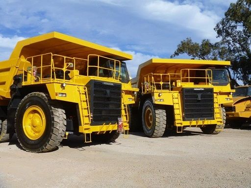 Komatsu HD785-7 Two x Dump Trucks for sale WA