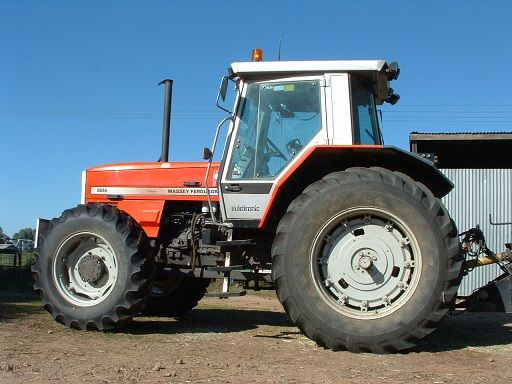 Massey Ferguson 3655 4WD Tractor for sale NSW