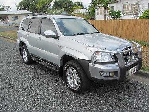 4WD for sale QLD 2008 GXL Prado 4x4