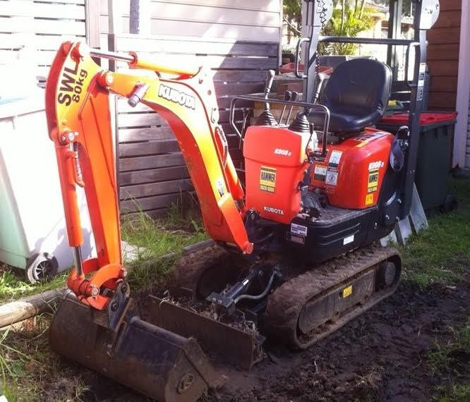 Carter Wesco Trailer - Kubota K008-3 2014 Excavator for sale NSW