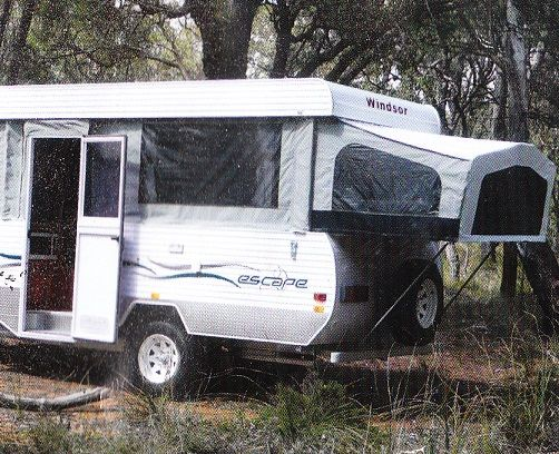 Windsor Escapr Semi Off Road Campervan for sale QLD Calliope