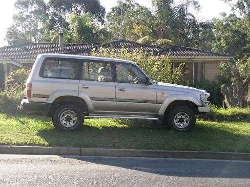 Toyota Sahara Landcruiser 4WD for sale NSW Narellen