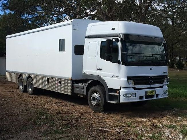 Mercedes Atego 2329 9 Horse Transport Truck for sale NSW
