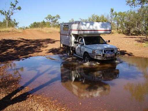 Campervan for sale NT Navara Ute and Slide on Camper