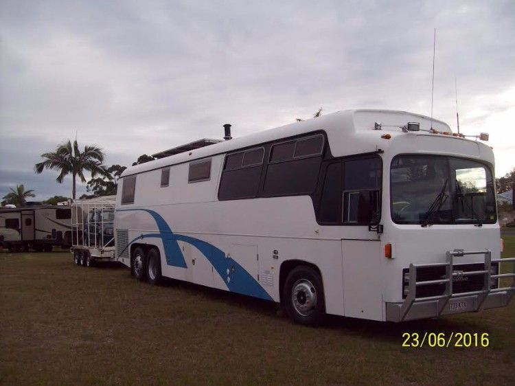 1979 Domino DC122 Tourmaster Motorhome for sale QLD Bribie Island