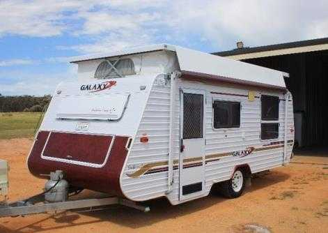 2004 Galaxy Southern Cross Pop Top Caravan for sale Vic