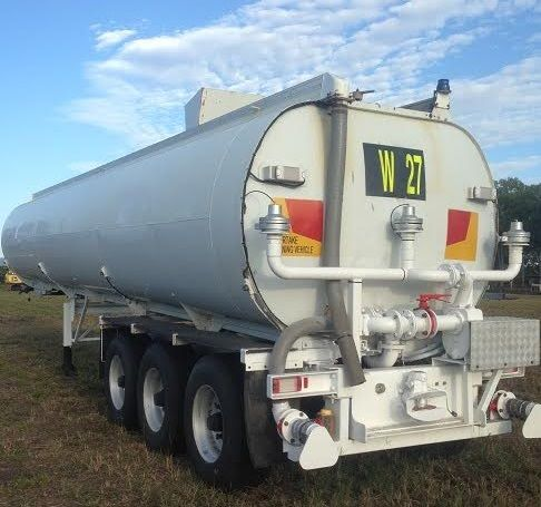 45,000 Litre Hockney Alcan Water Tanker Trailer for sale QLD