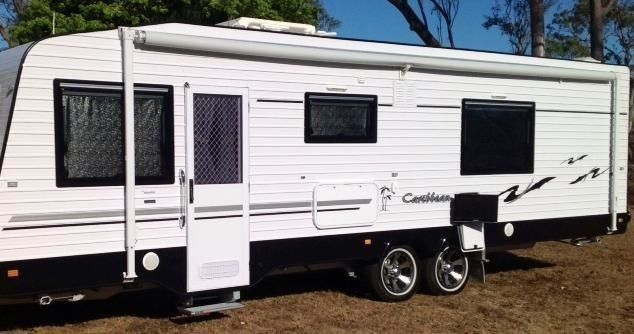 Caribbean Custom Spaceland Caravan for sale QLD Brisbane
