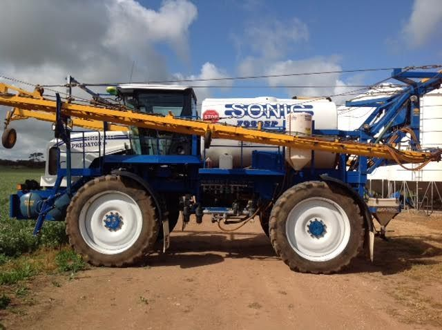 Sonic Predator SP Self Propelled Boomspray Farm machinery for sale SA