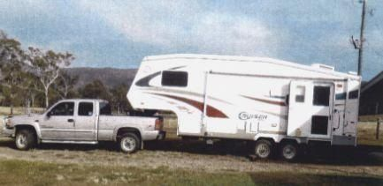 Chev Sierra Ute 5th Wheeler Cross Roads Cruiser Caravan for sale QLD Central