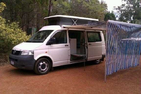 Campervan for sale WA VW Transporter Pop Top Campervan