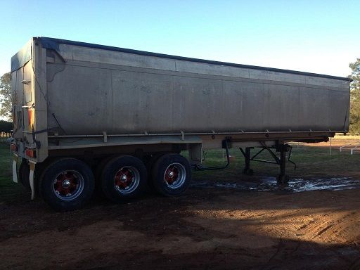 34 Foot Aluminium Tri Axle trailer for sale Peak Hill NSW