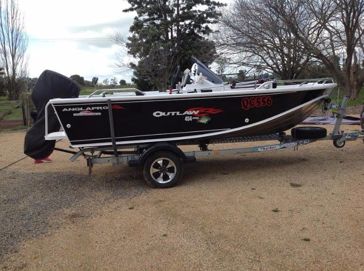 Anglapro 454 Outlaw Boat and Marine for sale NSW