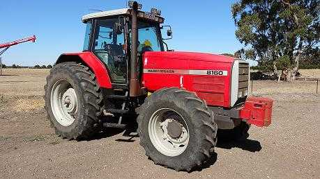 Tractor for sale VIC 8160 Massey Ferguson Tractor