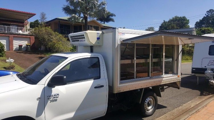 Refridgerated Toyota Hilux Workmate Ute-Van for sale NSW