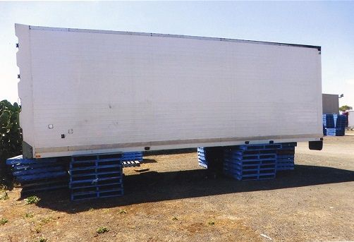 FTE Freezer Van 14 Pallet Freezer Body Trailer for sale VIC Yarrambat