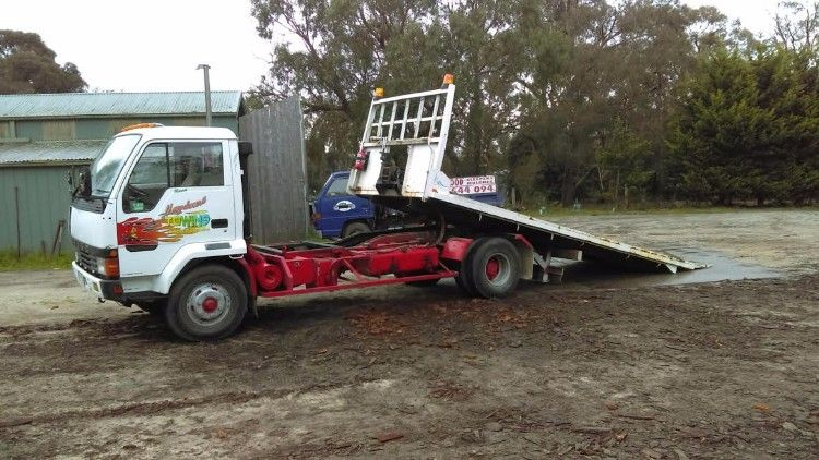 1989 Mitsubishi Fuso Tilt Tray Truck for sale Vic
