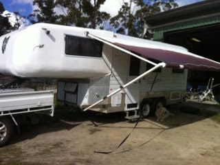 2007 Fifth-Wheeler Custom Caravan for sale QLD