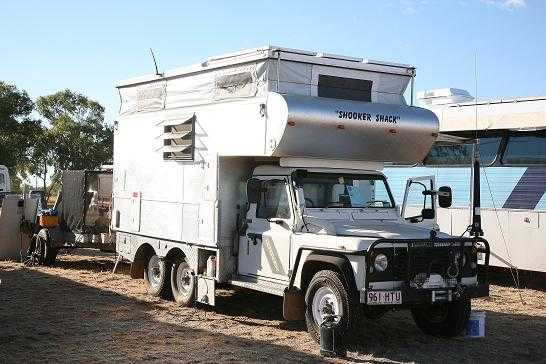 Landrover Perentie 110 Slide on Camper Campervan for sale QLD Rockhampton