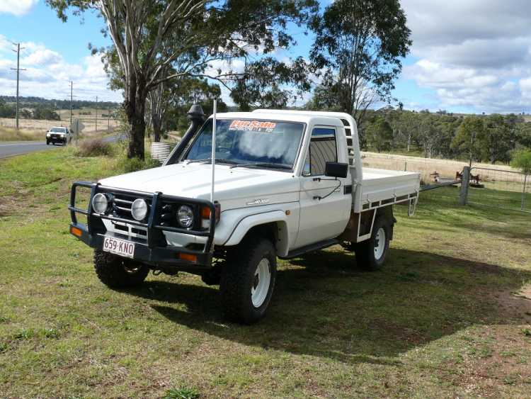2005 Turbo Landcruiser Ute for sale QLD Woolmer