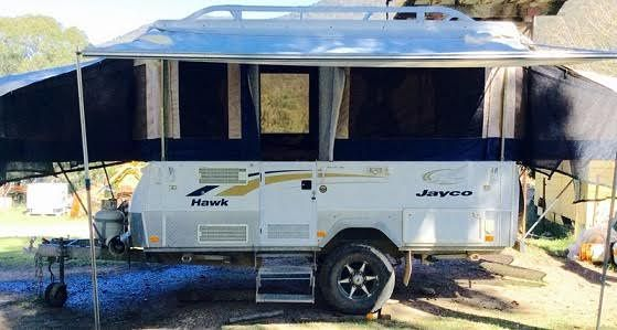 2010 Jayco Hawk Outback 4 x 4 Camper Trailer for sale NSW