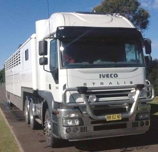 Iveco Stralis AT8 Prime Mover Truck 16 Horse Float for sale NSW