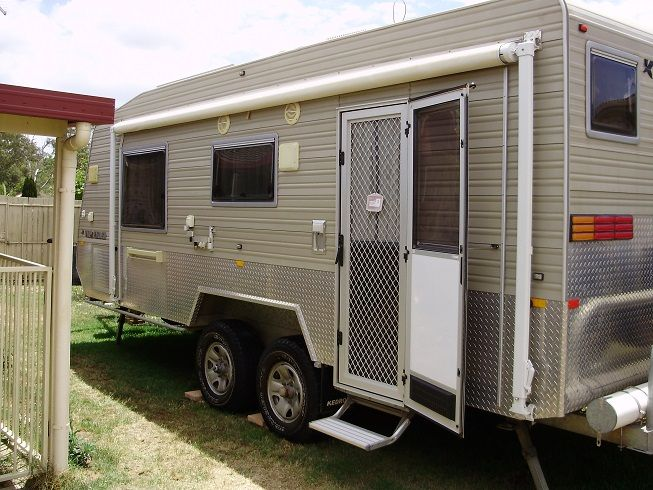 Kedron Topender 21 foot Caravan for sale QLD Heritage Pk