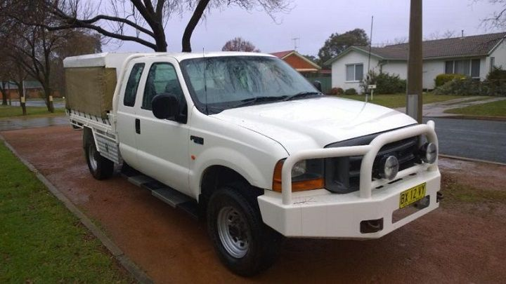 4 x 4 Ford F250 2003 Manual Ute for sale NSW