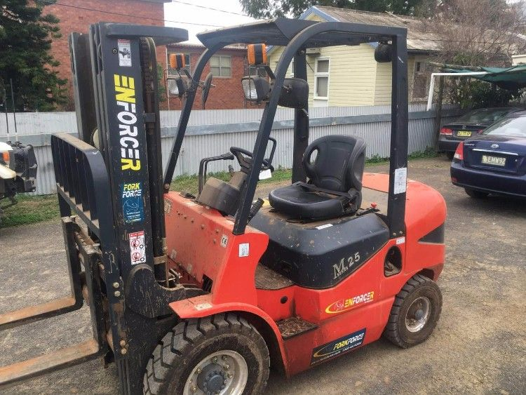 FD25T - DMA Forklift Plant & Equipment for sale NSW