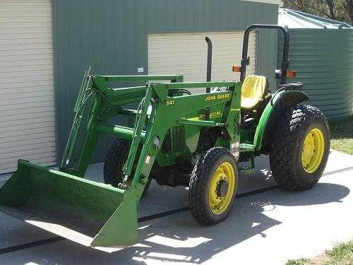 Tractor for sale NSW 4WD John Deere 5210 Tractor