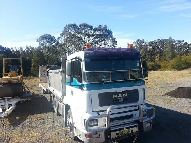 Man TGA05A Tipper Truck for sale Taree NSW - Introduction toWork