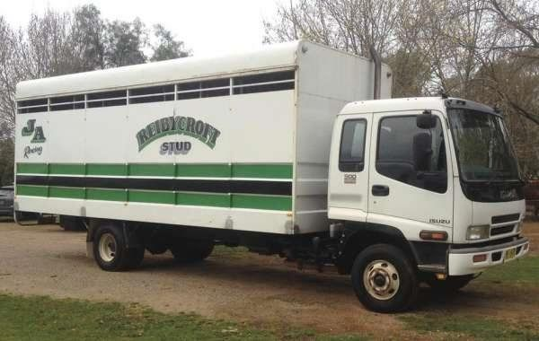 Isuzu 500 8 Horse Transport Truck for sale NSW