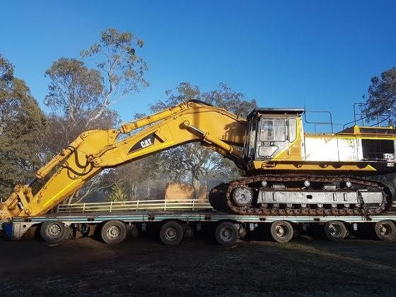 75 Tonne Caterpillar 375 Excavator for sale QLD