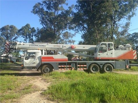 2007 Zoomilion 292JOZ25H Crane Truck for sale QLD