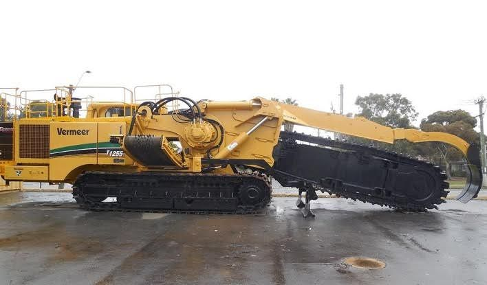 Vermeer T1255 Trencher Earth-moving Equipment for sale WA  USD825,000 inc