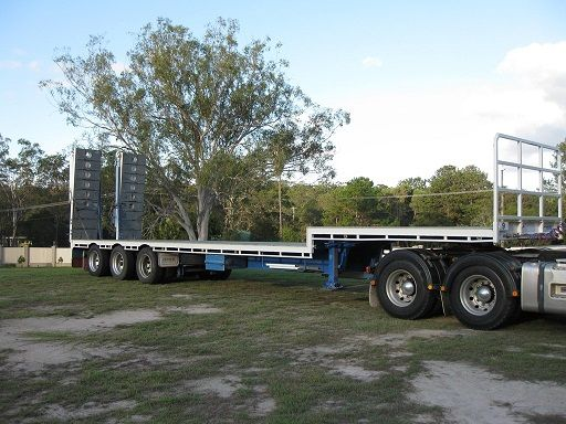 Barker 45ft Triaxle Dropdeck Semi Trailer for sale QLD Gumdale