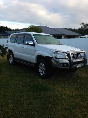 2009 GXL Prado 4X4 4WD for sale Qld